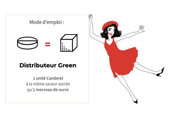 Distributeur Green