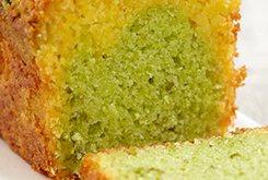 Cake à l'orange et pistache