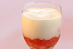 Yaourt à la rhubarbe à boire
