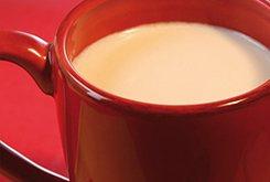 Thé au lait biscuité