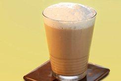 Café frappé à la vanille
