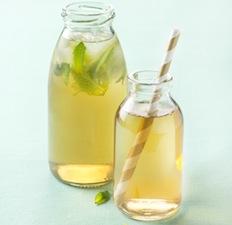 Thé glacé citron menthe
